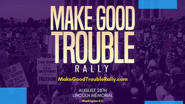 WATCH: Make Good Trouble Rally in Washington, DC