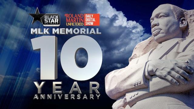 Alpha Phi Alpha celebrates 10th anniversary of Brother MLK Memorial
