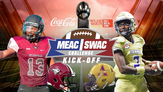 WATCH: #RMU live at the MEAC-SWAC Challenge Coca-Cola Fan Zone