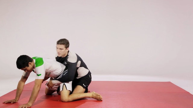Closed Guard to 50-50