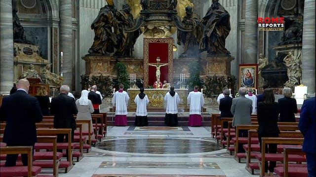 Pope at Pentecost Mass: God knows eve...