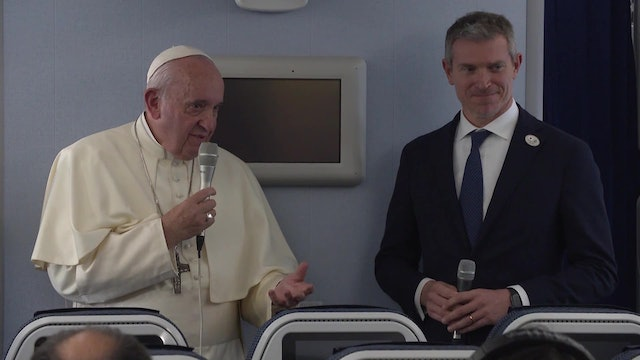 Pope's in-air press conference: Vatican scandals and protests in Latin America