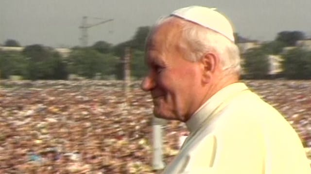 40 years ago, John Paul II's first vi...