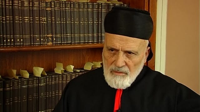 Cardinal Sfeir, patriarch emeritus of...