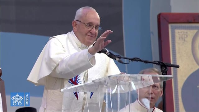Pope Francis to youth: Your sensitivi...