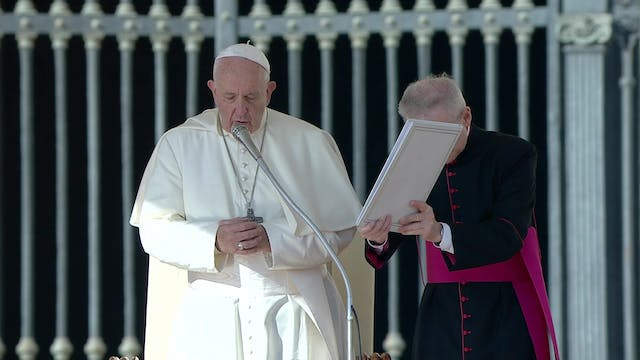 Pope Francis: I follow with concern w...