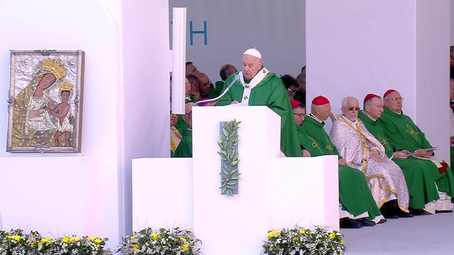 Pope at Mass in Bari: Christians are called to live an extremism of love