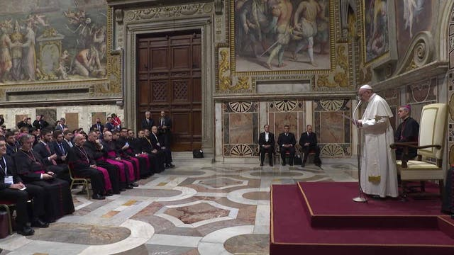 Pope Francis: Shrines are where peopl...
