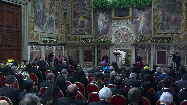 Pope to diplomats: Sadly, the new yea...