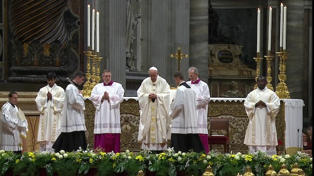 Pope celebrates Mass on Sunday to celebrate Extraordinary Missionary Month
