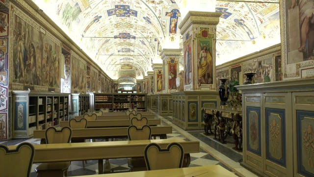 Vatican Library's mission that has wi...
