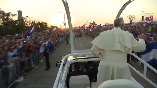 Best images of Pope Francis in Panama