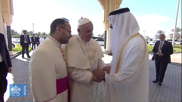 Pope departs United Arab Emirates aft...