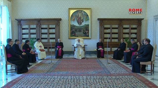 """Pope at Audience: """"If we don't take care of each other, we won't heal the world"""""""