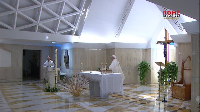 Pope at Santa Marta: God's faithfulne...