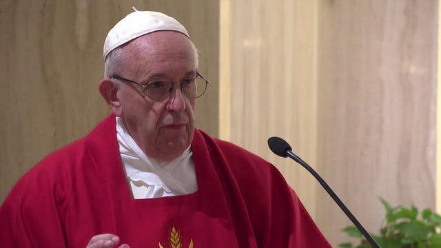 Pope in Santa Marta: a bishop is not ...