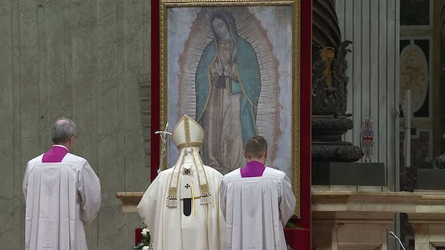 Pope in Guadalupe Mass: Mary teaches ...