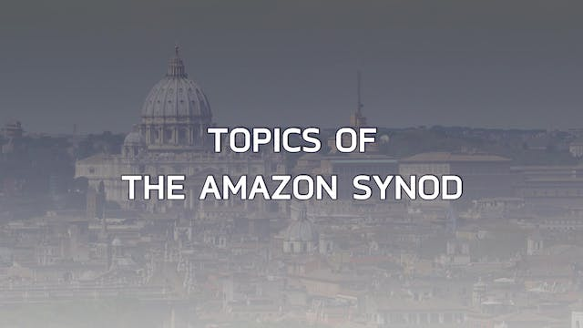 Keys to the Amazon Synod