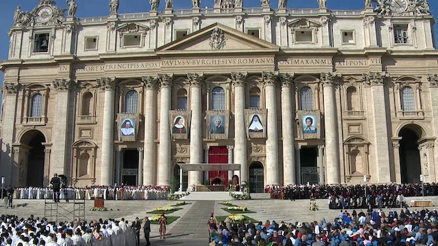 Pope Francis has named the most saints in history