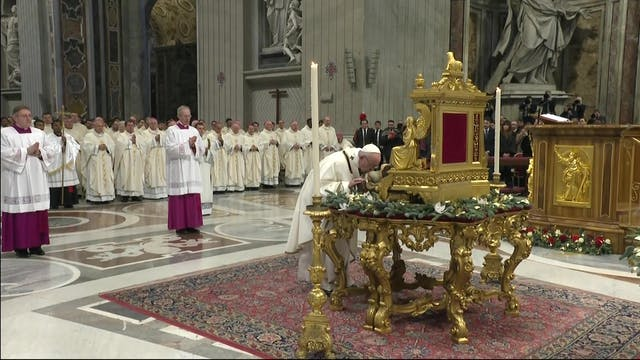 Pope Francis will celebrate Mass for ...