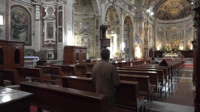 Rome reopens some churches to let peo...
