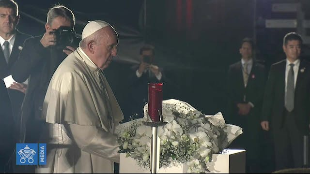 Pope in Hiroshima: nuclear weapons ar...
