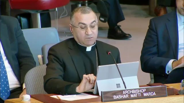 Archbishop of Erbil: This is the last...