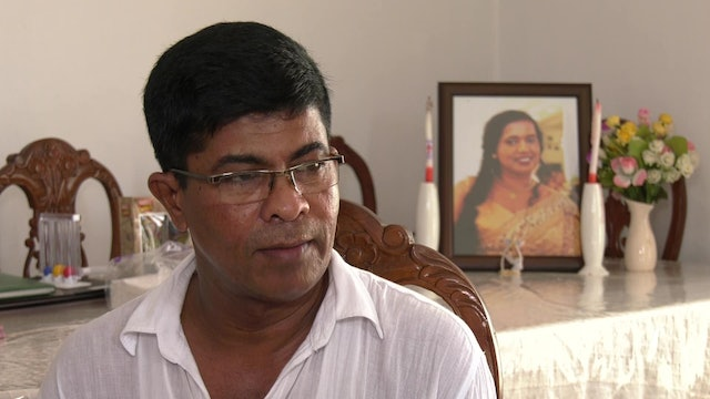 This man forgives terrorists who killed his wife in Sri Lankan attacks