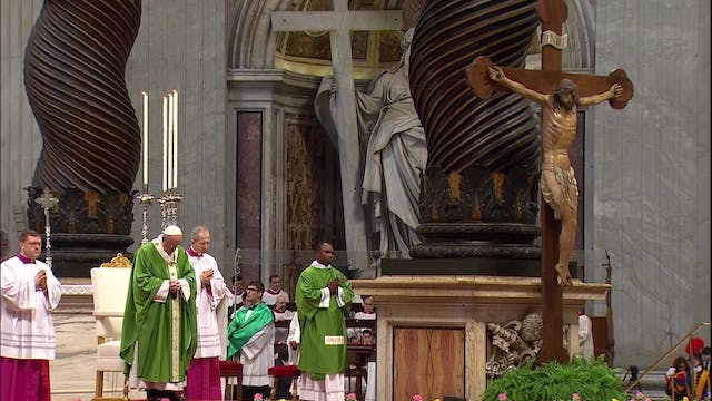 Spectacular restoration of St. Peter'...
