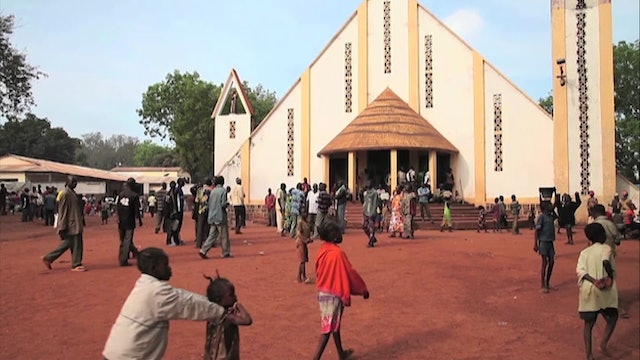In many parts of Central African Republic only priests and religious remain