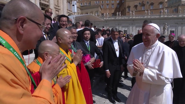 Buddhist delegation from Taiwan come to Rome to meet Pope Francis