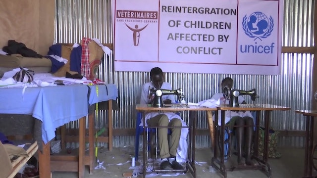Former child soldiers get second chance in life through jobs and education
