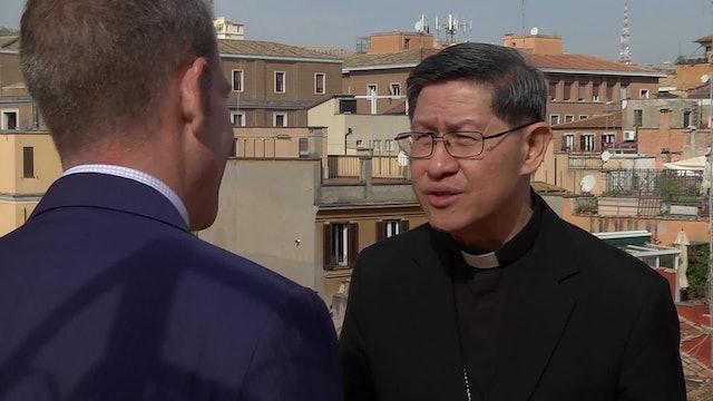 Pope Francis names Cardinal Tagle Prefect of Propaganda Fide