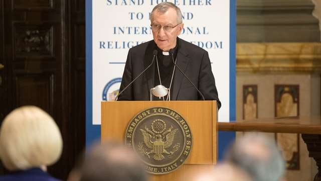 Full speech of Vatican Secretary of State Cardinal Parolin on religious freedom