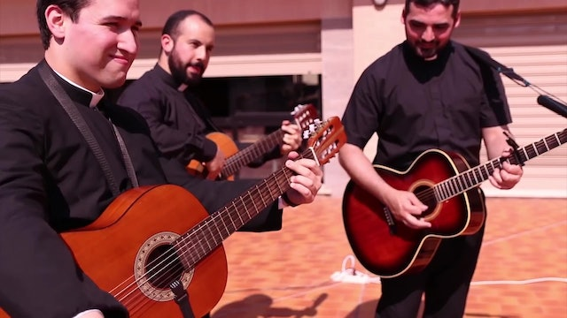 Legionaries make song to transmit joy and hope during COVID-19