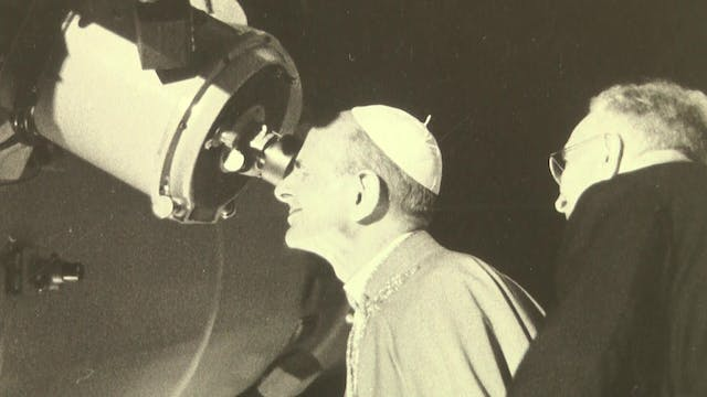 Pope Paul VI watched arrival Apollo 1...