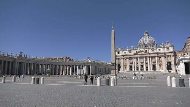 St. Peter's Square re-opens for passe...