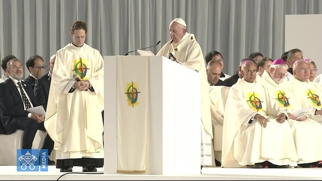 Pope during Tokyo Mass: seeking success at any price can cost one's own life