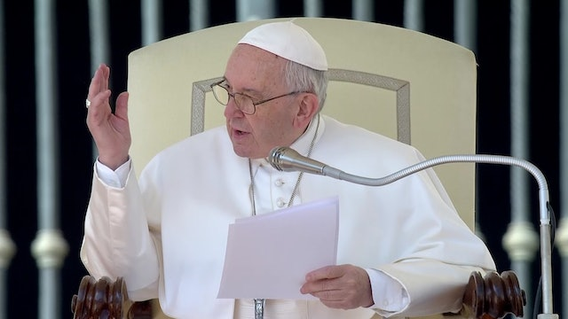 """Pope in General Audience: """"God is not like us; God is patient!"""""""
