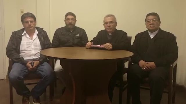 Bolivian Bishops: What's happening is...