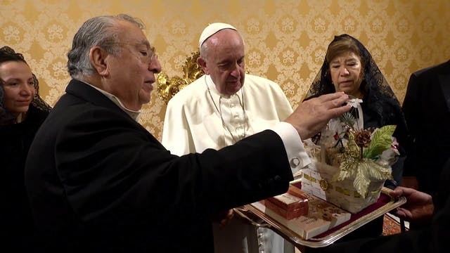 New Mexican ambassador gives Pope Fra...