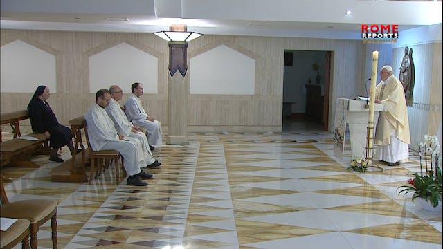 Pope at Santa Marta: The Church grows...