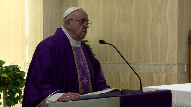 Pope in Santa Marta: it is a mortal s...