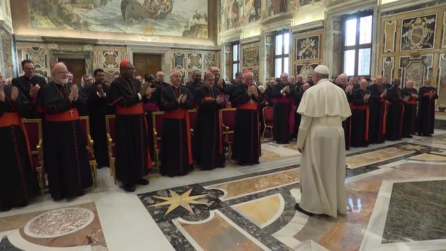 Pope Francis: Don't abandon those wit...