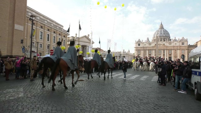 St. Peter's Square turns into a farm for feast of St. Anthony the Abbot