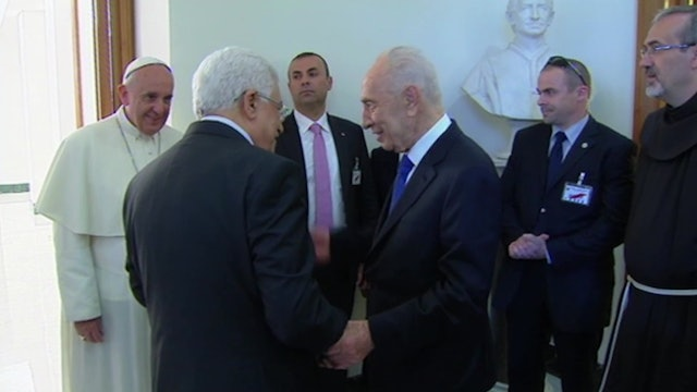 Five years since pope's prayer for peace with presidents of Israel and Palestine