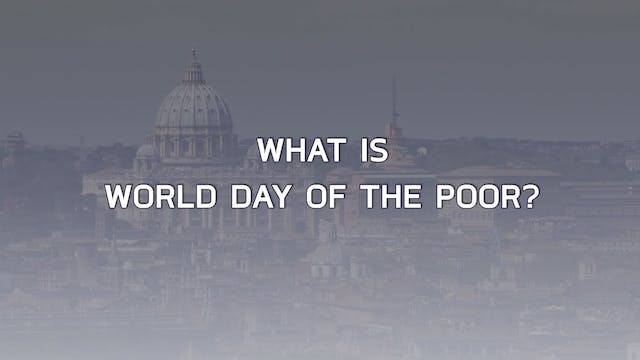 What is World Day of the Poor?