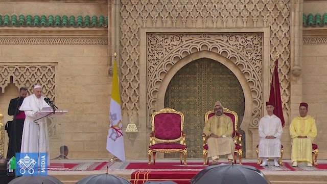Pope to Moroccan authorities: fundamentalism  must be countered by solidarity
