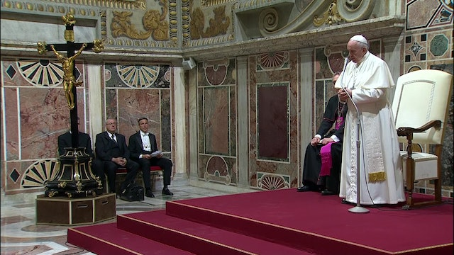 "Pope to Gypsies: ""Second-class citizens are those who discard others"""