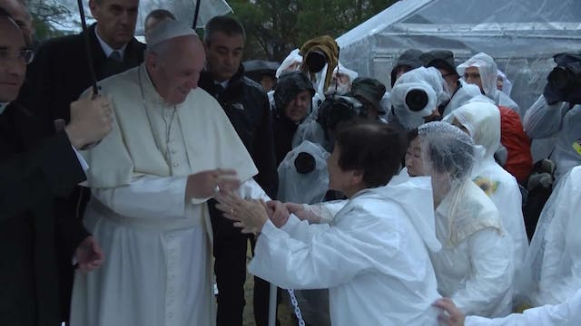 Best images of pope's trip to Japan